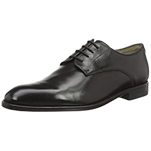 Clarks 261231597, Scarpe Derby Uomo, Nero (Black Leather), 42.5 EU