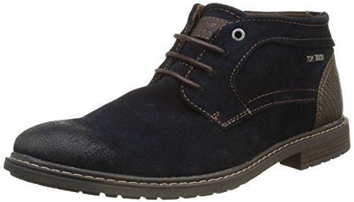 Tom Tailor 1681101, Desert Boots Homme Bleu (Navy)