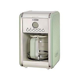 Ariete UK 1342 Retro Filter Coffee Machine, 12 cups, 2000 W, Vintage Series (Green)