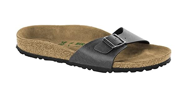 3b848f804ebee6 Birkenstock Madrid BF (Vegan) Pull Up 1009987 Anthracite Narrow   Amazon.co.uk  Shoes   Bags