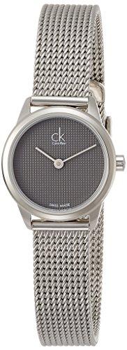 Calvin Klein Femme Analogique Quartz Montre avec Bracelet en Acier Inoxydable K3M2312X