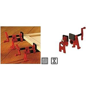 Bessey BPC-H12 Juego de abrazaderas de tubería, negro/rojo, Size