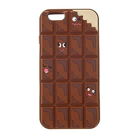 Claire's - Femmes - Coque Pour Téléphone Motif Morceaux De Chocolat Pour Iphone 6
