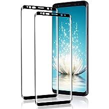 Flysee Verre Trempé pour Galaxy S9 Plus,  2 Pièces  Samsung Galaxy S9 Plus 2c8de28b5d51