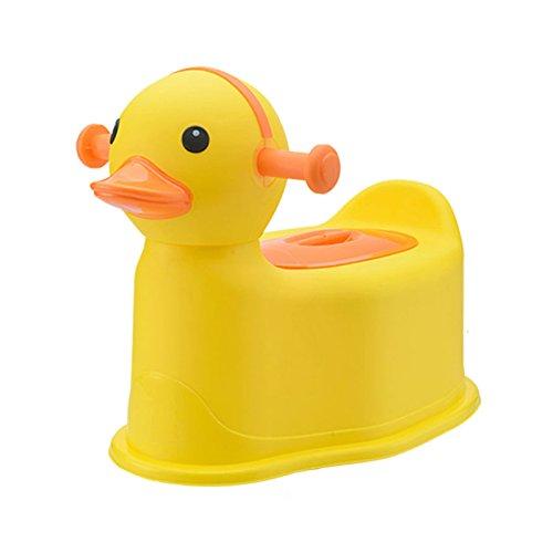Children's toilet Enfants Toilette- Toilettes pour Enfants Jaune Femelle Extra Grand Mâle Bébé Enfant Pot Urinoir Toilette Siège