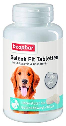 Beaphar - Gelenk Fit Tabletten - (60 Tabletten neue Rezeptur) Für Aktivität, Vitalität & Beweglichkeit und gesunde Gelenke (60 Tabletten Chondroitin)