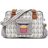 Yummy Mummy Stylish Nursery Changing Bag Wise Owls Includes Travel Changing Mat Cupcake Design