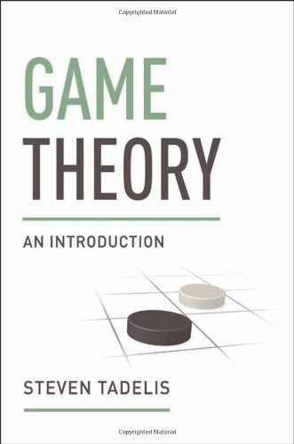 Game Theory: An Introduction by Tadelis, Steven (2013) Hardcover