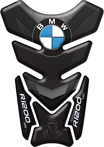Tankpad, harzbeschichtet, 3D, für Motorrad BMW R1200GS Dakar Cod.DA-008 L schwarz