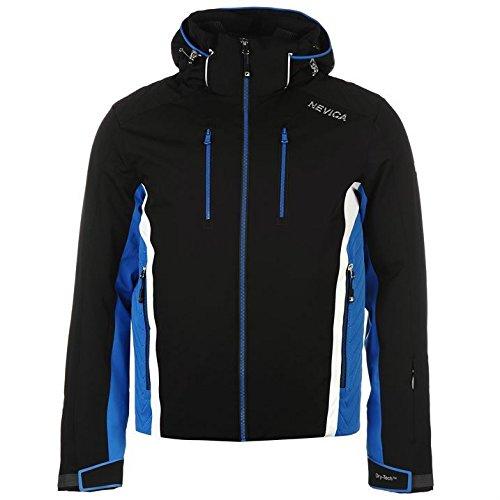 nevica-mens-eaton-ski-jacket-waterproof-windproof-breathable-drytech-padded-hood-black-m