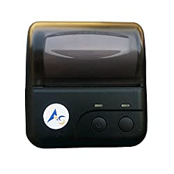 80mm 3 inch Portable Bluetooth + USB Thermal Receipt Printer alongwith Belt Attachable Safety Case