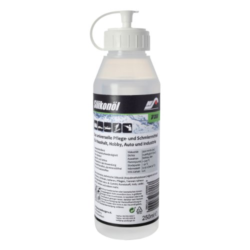 WS Silikonöl V350 - 250 ml (Silikon-formenbau-gummi)