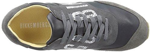Bikkembergs 641128, Sneakers basses homme Gris - Gris