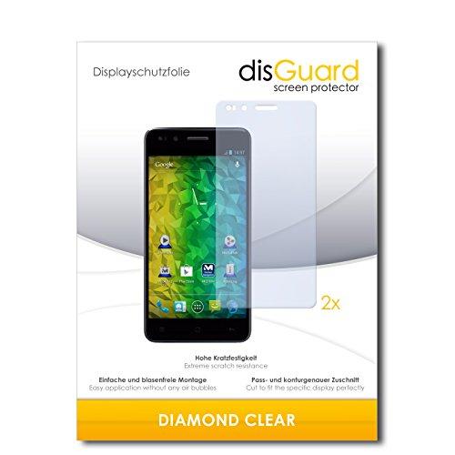 2 x disGuard® Bildschirmschutzfolie Medion Life P5004 Schutzfolie Folie