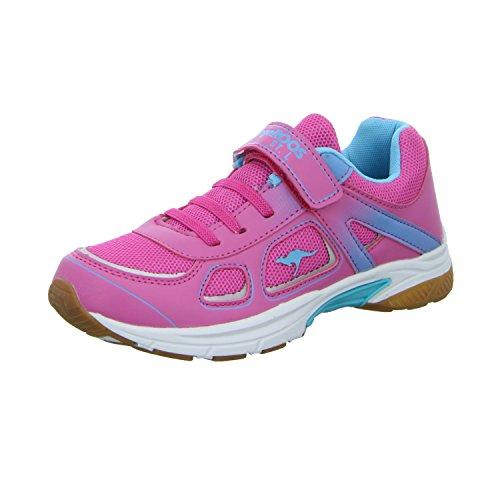 Kangaroos  16017 694, Chaussures de course pour fille magenta/blue rad