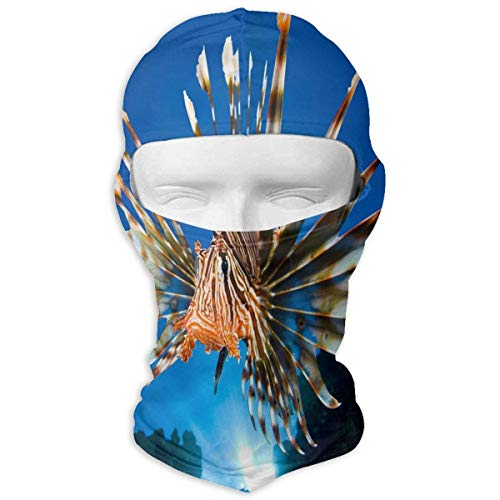 Wdskbg Balaclava Lionfish Best Full Face Masks Ski Headcover Motorcycle Hood for Cycling Sports Mountaineering Design12