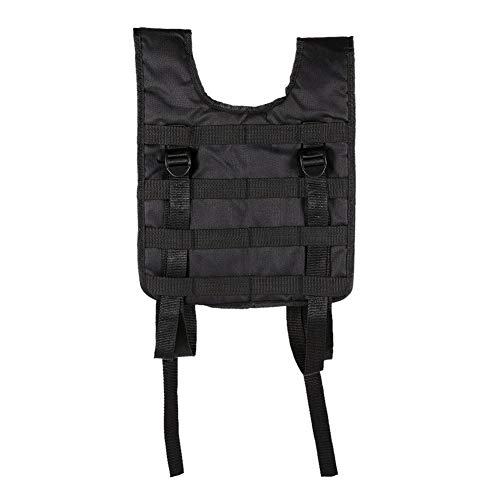 RZRCJ Militärische Taktische Weste Outdoor Jagd Weste Oxford Molle Weste Modular Combat Assault Airsoft Plate Carrier Trainingsspiel (Color : Black) -
