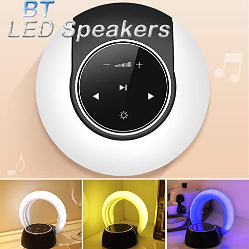 Bluetooth Lautsprecher,TwoCC Lautsprecher Nacht LED Blueteoth Licht Ändern Drahtlos Lautsprecher Tragbar LED Themen -