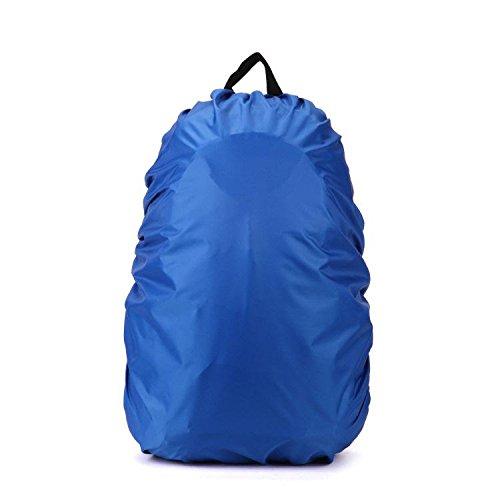 Rucksack Regenschutz Cover Rucksack Regenhülle Rucksacküberzug wasserdicht für Camping, Wandern und andere Outdoor Aktivitäten (Größe: 25L - 40L)