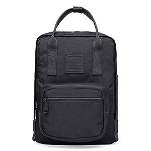 41hnrG7tf3L. SS300  - HotStyle MOREPURE MINI Bolso mochila pequeño, Cabe un iPad de 10 pulgadas, 30x22x12,6 cm, Navy