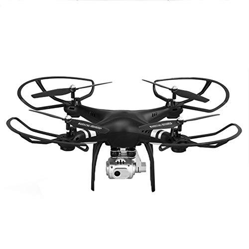 LJYLQW HD-Kamera mit Drohne, WiFi FPV Quadcopter Beste Drohne für Anfänger mit Höhenstand, Flugbahn, 3D-Flips, Headless-Modus, One Key-Bedienung,Black,WiFicamera