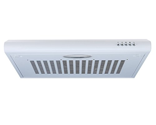 41hns1Dv9zL - Cookology VISOR600WH 60cm Visor Cooker Hood in White | Kitchen Extractor Fan