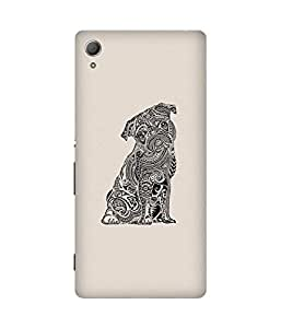 Doodle Pug Sony Xperia Z4 Case
