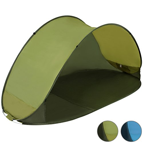 Pop-Up-Beach-Camping-Tent-with-UV-protection-Blue-or-Green