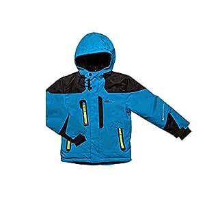 SRK - Blouson de ski garçon 3/8 ans ECETAL-turquoise-3 ans