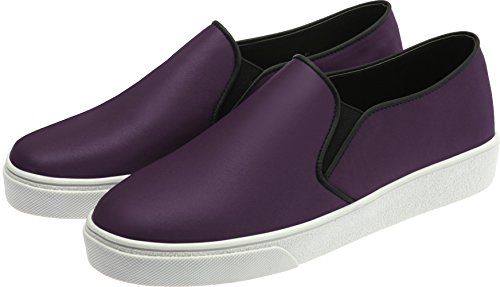 SNRD-Up 131–7 Casual mixte longue antidérapante Ons Baskets chaussures Violet - 131-Purple