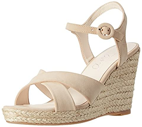 Another Pair of Shoes Werinae1, Sandales Bout Ouvert Femme, Beige (Sand782), 39 EU