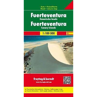 Carte routière : Fuerteventura
