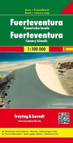 Fuerteventura 1:100.000: Toeristische wegenkaart 1:100 000