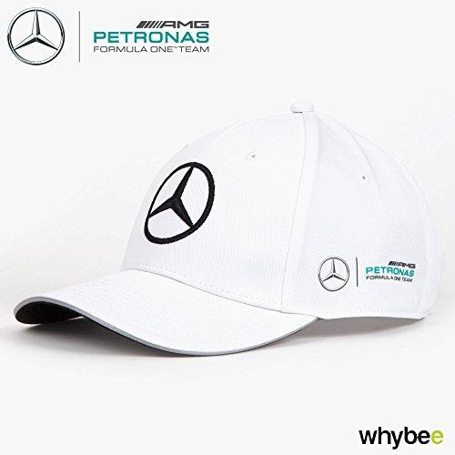359682b5bc9 2017 Mercedes-AMG F1 Formula 1 WHITE Team Cap by Hugo Boss Adult One Size