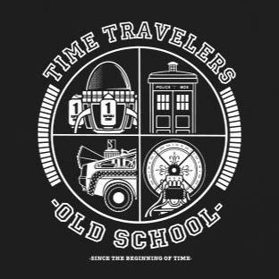 Time Travellers - Stofftasche / Beutel Oliv