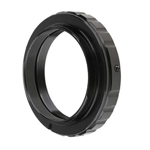 F Fityle Adapterring für T2-EF T Mount Objektiv auf Nikon D7200 D7100 D7000 D3200 D5300 D5100 D3 D90 DSLR/SLR Kamera