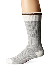 Wigwam Men's Hudson Bay Midweight Classic Fashion and Function Crew Sock, Olive, Medium