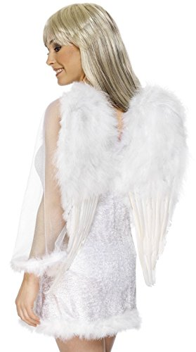 Engelsfl�gel Engel Kost�m Fl�gel DELUXE mit Federn (Engel Kostüm Ideen)