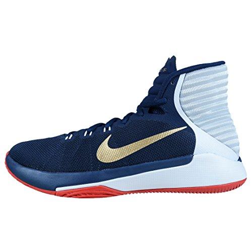 Nike 844787-400, Scarpe da Basket Uomo Blu