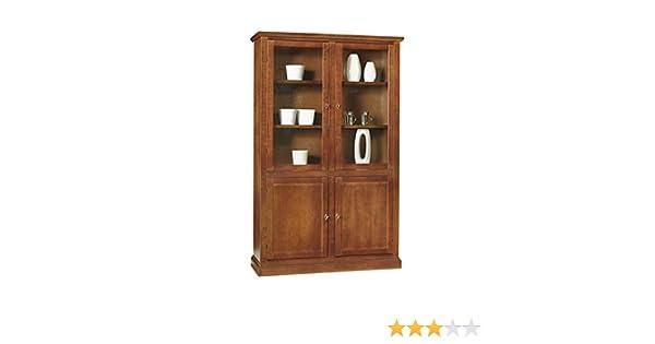 Credenza Con Vetrina In Legno : Inhouse srls vetrina con credenza arte povera in legno massello