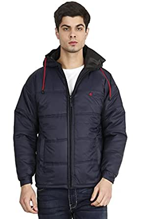 OJASS Men's Full Sleeve Solid Jacket (Blue)