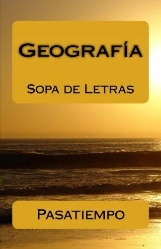 Geografía: Sopa de Letras