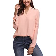 new concept 811d7 4d7c4 Amazon.it: Camicia elegante donna - Rosa