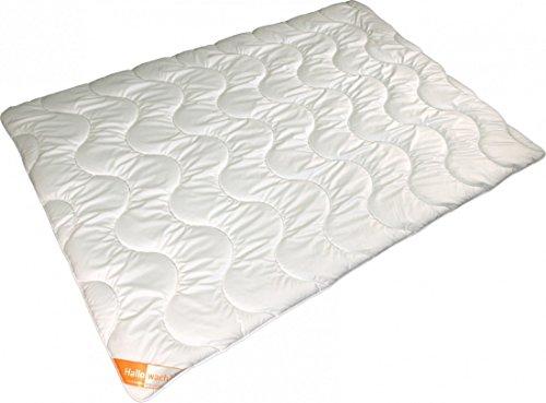 Steppdecke 155 x 220/450+900g - Modicana 4-Jahreszeiten Mikrofaser Bettdecke - Waschbar Trockner Allergiker Geeignet