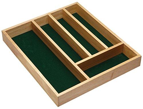 36 Cm Breit 5 Schubladen (Kitchen Craft Besteckkasten mit 5 Fächern, aus Holz, 36 x 31 x 5cm)