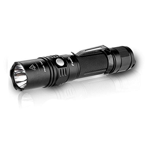 Fenix PD35 TAC (Tactical Edition) Taschenlampe Cree XP-L (V5) LED 1000 Lumen, taktisch, für 1 x 18650-Batterie oder 2 x CR123A-Batterien Tac Torch