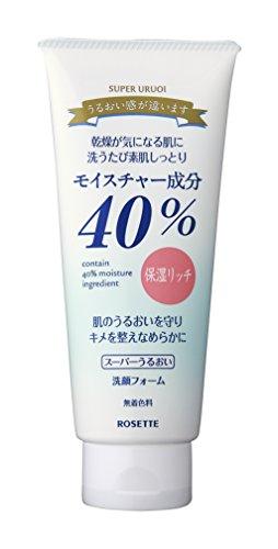 ROSETTE   Facial Washing Foam   SUPER URUOI 168g (japan import)