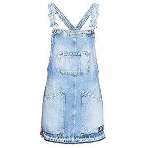Superdry Denim Dungaree Dress Overalls/Latzhosen Damen Blau Overalls/Latzhosen
