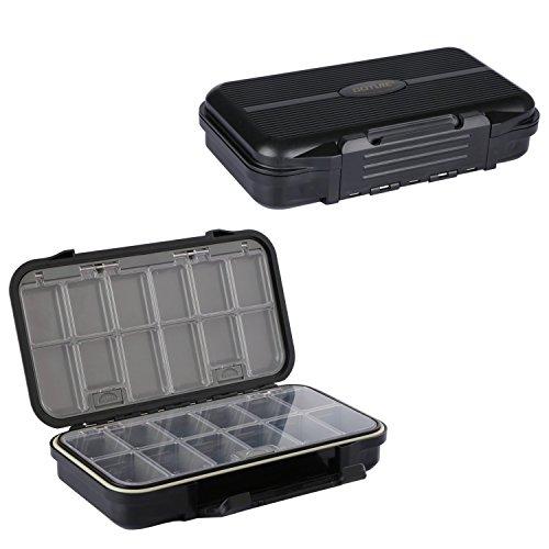 Goture Kunststoff Tackle Box Haken Köderbehälter Kit Große Lagerung