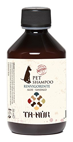 RINVIGORENTE - SHAMPOO PER CANI - PET SHAMPOO - NATURALE 250 ML